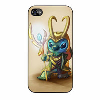 Stitch As Loki From Asgard iPhone 4s Case