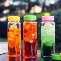 Water bottle juice tea coffee nice readily Lightweight portable space bottle with bag