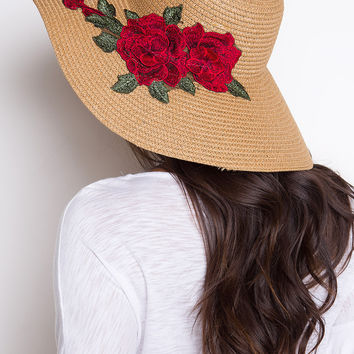 Love Blooms Sunhat - Red