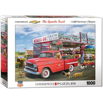 Chevrolet The Apache Truck - 1000 Piece Jigsaw Puzzle