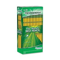 Dixon Ticonderoga #2 Soft Pencil, Yellow, 72/Pack | Staples®