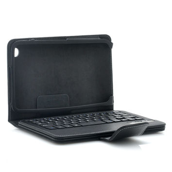 Wireless Bluetooth Keyboard Case for Samsung Galaxy Tab 3 8 Inch - Bluetooth 3.0, Kickstand