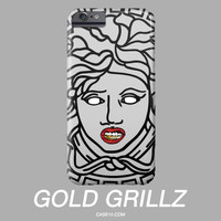 ASAP Rocky Medusa Gold Grill IPhone Galaxy Phone Case
