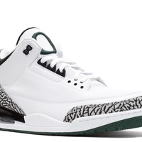 Beauty Ticks Air Jordan 3 Retro Oregon Pit Crewbasketball Sneaker