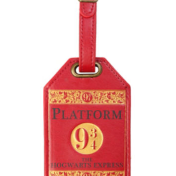 Harry Potter Platform 9 3/4 Luggage Tag