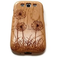 Samsung Galaxy S3 wood case walnut, cherry or bamboo - Dandelion