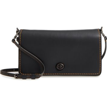 COACH Dinky Crossbody Leather Bag | Nordstrom