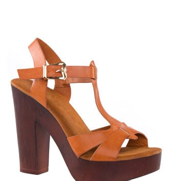 Belong Together Heels - Tan