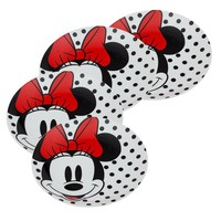 Minnie Mouse 4pc 8 inch Ceramic Salad Plate Set