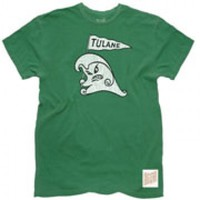 Tulane Green Wave Men's Short Sleeve Tee