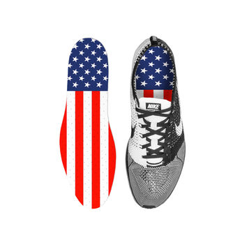 America USA Flag Custom Insoles