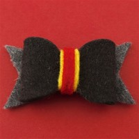 Gryffindor Student Hair Bow - Spiffing Jewelry