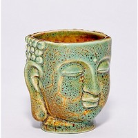 Antique Green Buddha Shot Glass - 2 oz. - Spencer's