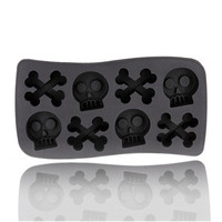 Horror Skull Shaped Ice Cube Trays Ice Mold Ice Maker