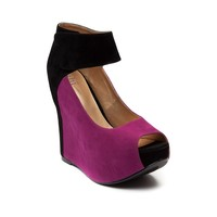 Womens Shi by Journeys Missin You Wedge, Raspberry Black | Journeys Shoes