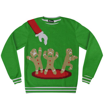 Gingerbread Nightmare Sweatshirt