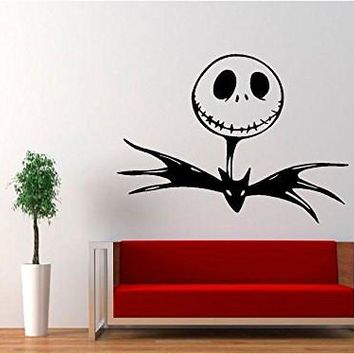 Jack Skellington - Nightmare Before Christmas Decal Sticker for Window Wall Car Truck Room