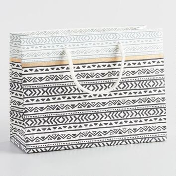 Small Cape Town Stripe Handmade Gift Bags Set of 2