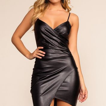 Makin' Me Melt Dress - Black