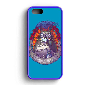 Totoro Sugar Skull iPhone 5 Case Available for iPhone 5 Case iPhone 5s Case iPhone 5c Case iPhone 4 Case