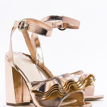 Frill Trim 2 Part Heels | Shop Clothes at Nasty Gal!