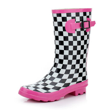 Fashion Miss Rain Bootie,Rain boots = 5825383937
