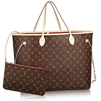 Louis Vuitton Neverfull GM Monogram Canvas Cherry Handbag Article:M41179