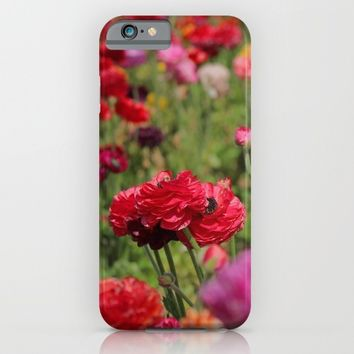 Flowers iPhone & iPod Case by Emma