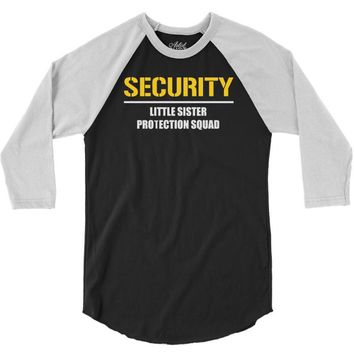 security little sister protection squad 3/4 Sleeve Shirt