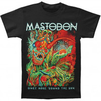 Mastodon OMRTS Album Tee Slim Fit T-shirt - Mastodon - M - Artists/Groups - Rockabilia