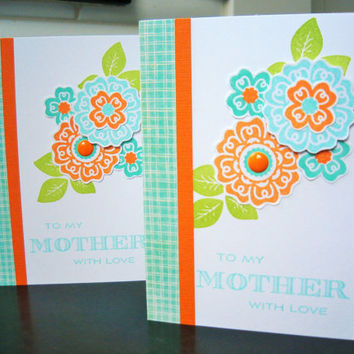 Handmade Mother's Day Card, Birthday Card for Mom, Mothering Sunday Greeting Card