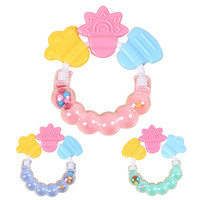 1 Pcs Baby Rattle Teether Cute Cartoon Baby Toys Bed Bell Rattles Musical instruments Children Baby Shaker Gift