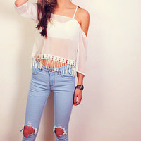 Lazy Afternoon Top -sold out