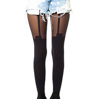 The House Of Holland Super Suspender Tight