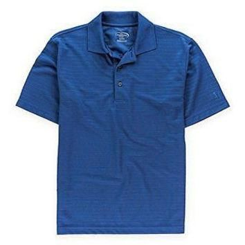 Champion Mens Tour Dry Rugby Polo Shirt Bijoublue S