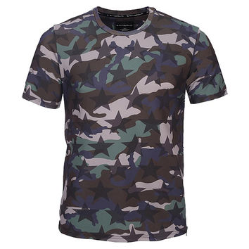 Army Fashion Camouflage T-shirt Men/Women Zipper Tshirts 3d T shirt Summer Tops Tees Shirts Hombres