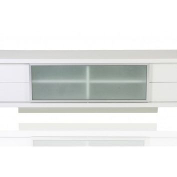 Epopee Contemporary TV Stand White