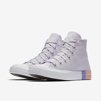 The Converse Chuck Taylor All Star Tri-Blocked Midsole High Top Women's Shoe.