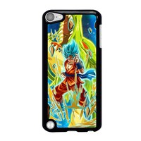 GOKU SAIYAN BLUE DRAGON BALL iPod Touch 5 Case Cover