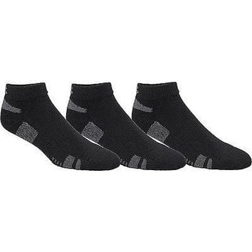Under Armour Mens Low Ankle (3) Pack of Socks - Black, White, Med, Lg, XL