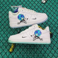 Steven Harrington X Nike Air Force 1 Low Flyleather Qs Earth Day Sneakers - Best Online Sale