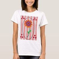 Hearts and Flower Tshirt