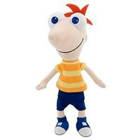 Disney Phineas Plush Mini Bean Bag Toy -- 10''