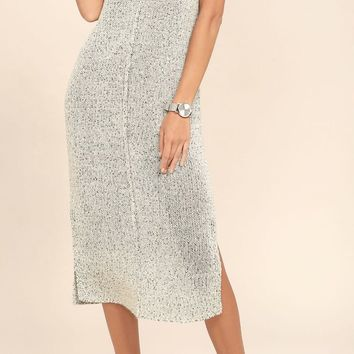 Live Free Midi Sweater Dress