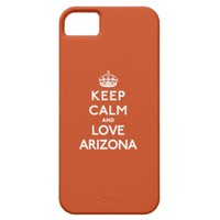 Keep Calm and Love Arizona iPhone 5 Case from Zazzle.com