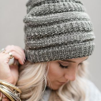 Need It Knit Beanie - Olive