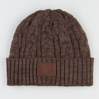 Element Graham Beanie Brown One Size For Men 22483540001