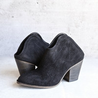 chinese laundry - kelso - Open Back Bootie (Women)