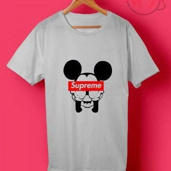 Trend Fashion Mickey Mouse Supreme T Shirt - Agilenthawking.com