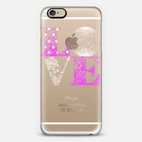MORE LOVE iPhone 6 case by Marianna Tankelevich | Casetify